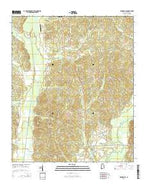 Winfield SE Alabama Current topographic map, 1:24000 scale, 7.5 X 7.5 Minute, Year 2014 from Alabama Map Store