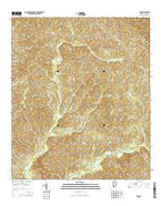 Winn Alabama Current topographic map, 1:24000 scale, 7.5 X 7.5 Minute, Year 2014 from Alabama Map Store