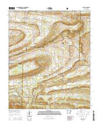 Abbott Arkansas Current topographic map, 1:24000 scale, 7.5 X 7.5 Minute, Year 2014