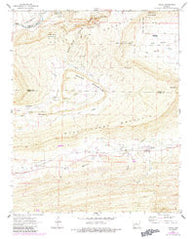 Adona Arkansas Historical topographic map, 1:24000 scale, 7.5 X 7.5 Minute, Year 1961
