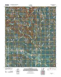 Antoine Arkansas Historical topographic map, 1:24000 scale, 7.5 X 7.5 Minute, Year 2011