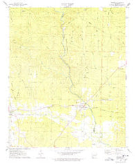 Antoine Arkansas Historical topographic map, 1:24000 scale, 7.5 X 7.5 Minute, Year 1975
