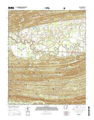 Aplin Arkansas Current topographic map, 1:24000 scale, 7.5 X 7.5 Minute, Year 2014