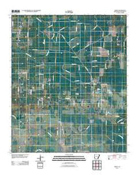 Arden Arkansas Historical topographic map, 1:24000 scale, 7.5 X 7.5 Minute, Year 2011