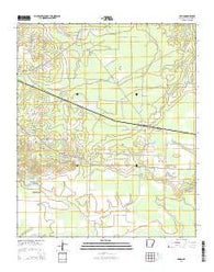 Arden Arkansas Current topographic map, 1:24000 scale, 7.5 X 7.5 Minute, Year 2014