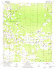 Arden Arkansas Historical topographic map, 1:24000 scale, 7.5 X 7.5 Minute, Year 1951