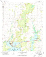 Arkansas Post Arkansas Historical topographic map, 1:24000 scale, 7.5 X 7.5 Minute, Year 1972