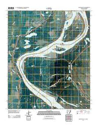 Arkansas City Arkansas Historical topographic map, 1:24000 scale, 7.5 X 7.5 Minute, Year 2011