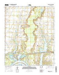 Arkansas Post Arkansas Current topographic map, 1:24000 scale, 7.5 X 7.5 Minute, Year 2014