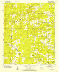 Arkinda Arkansas Historical topographic map, 1:24000 scale, 7.5 X 7.5 Minute, Year 1951