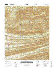 Bee Mountain Arkansas Current topographic map, 1:24000 scale, 7.5 X 7.5 Minute, Year 2014 from Arkansas Maps Store
