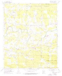 Board Camp Arkansas Historical topographic map, 1:24000 scale, 7.5 X 7.5 Minute, Year 1958