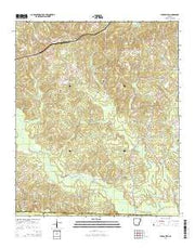 Buena Vista Arkansas Current topographic map, 1:24000 scale, 7.5 X 7.5 Minute, Year 2014 from Arkansas Maps Store