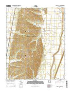 Cherry Valley East Arkansas Current topographic map, 1:24000 scale, 7.5 X 7.5 Minute, Year 2014 from Arkansas Map Store