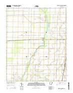Cherry Valley West Arkansas Current topographic map, 1:24000 scale, 7.5 X 7.5 Minute, Year 2014 from Arkansas Map Store