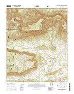 Chickalah Mountain East Arkansas Current topographic map, 1:24000 scale, 7.5 X 7.5 Minute, Year 2014 from Arkansas Map Store