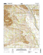 Dardanelle Arkansas Current topographic map, 1:24000 scale, 7.5 X 7.5 Minute, Year 2014 from Arkansas Maps Store
