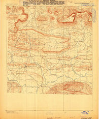 Dardanelle #3 Arkansas Historical topographic map, 1:62500 scale, 15 X 15 Minute, Year 1888