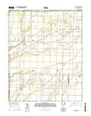Datto Arkansas Current topographic map, 1:24000 scale, 7.5 X 7.5 Minute, Year 2014 from Arkansas Maps Store