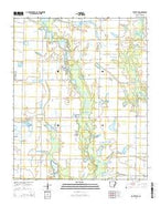 De Witt SW Arkansas Current topographic map, 1:24000 scale, 7.5 X 7.5 Minute, Year 2014 from Arkansas Map Store