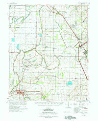 Deckerville Arkansas Historical topographic map, 1:62500 scale, 15 X 15 Minute, Year 1977