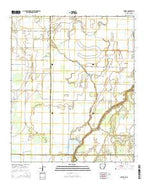 Empire Arkansas Current topographic map, 1:24000 scale, 7.5 X 7.5 Minute, Year 2014 from Arkansas Map Store