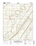 Etowah Arkansas Current topographic map, 1:24000 scale, 7.5 X 7.5 Minute, Year 2014 from Arkansas Map Store