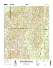 Falcon Arkansas Current topographic map, 1:24000 scale, 7.5 X 7.5 Minute, Year 2014 from Arkansas Maps Store