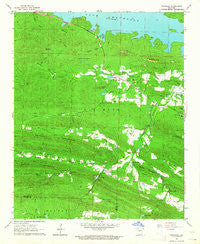 Ferndale Arkansas Historical topographic map, 1:24000 scale, 7.5 X 7.5 Minute, Year 1963