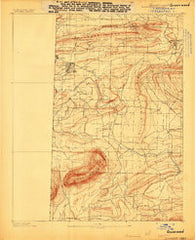 Greenwood Arkansas Historical topographic map, 1:62500 scale, 15 X 15 Minute, Year 1887