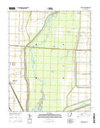 Hatchie Coon Arkansas Current topographic map, 1:24000 scale, 7.5 X 7.5 Minute, Year 2014 from Arkansas Map Store