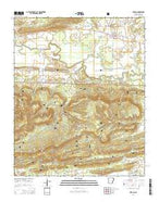 Havana Arkansas Current topographic map, 1:24000 scale, 7.5 X 7.5 Minute, Year 2014 from Arkansas Map Store