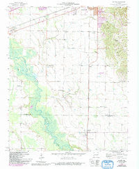 Haynes Arkansas Historical topographic map, 1:24000 scale, 7.5 X 7.5 Minute, Year 1958