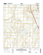 Heafer Arkansas Current topographic map, 1:24000 scale, 7.5 X 7.5 Minute, Year 2014 from Arkansas Map Store