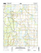 Lodge Corner Arkansas Current topographic map, 1:24000 scale, 7.5 X 7.5 Minute, Year 2014 from Arkansas Map Store