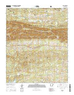 Lodi Arkansas Current topographic map, 1:24000 scale, 7.5 X 7.5 Minute, Year 2014 from Arkansas Map Store