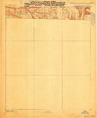 Magazine Mountain #4 Arkansas Historical topographic map, 1:62500 scale, 15 X 15 Minute, Year 1887