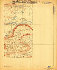 Morrilton No. 3 Arkansas Historical topographic map, 1:62500 scale, 15 X 15 Minute, Year 1889