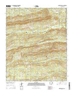 Murfreesboro NE Arkansas Current topographic map, 1:24000 scale, 7.5 X 7.5 Minute, Year 2014 from Arkansas Map Store