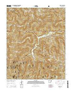 Murray Arkansas Current topographic map, 1:24000 scale, 7.5 X 7.5 Minute, Year 2014 from Arkansas Map Store