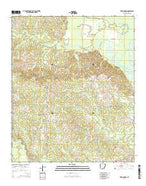 New London Arkansas Current topographic map, 1:24000 scale, 7.5 X 7.5 Minute, Year 2014 from Arkansas Map Store