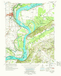 Osceola Arkansas Historical topographic map, 1:62500 scale, 15 X 15 Minute, Year 1977