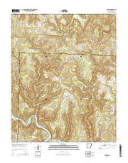 Parma Arkansas Current topographic map, 1:24000 scale, 7.5 X 7.5 Minute, Year 2014 from Arkansas Maps Store