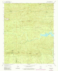 Paron SW Arkansas Historical topographic map, 1:24000 scale, 7.5 X 7.5 Minute, Year 1963