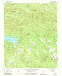 Paron Arkansas Historical topographic map, 1:24000 scale, 7.5 X 7.5 Minute, Year 1963