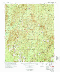 Princeton Arkansas Historical topographic map, 1:62500 scale, 15 X 15 Minute, Year 1978