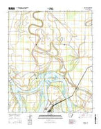 Rob Roy Arkansas Current topographic map, 1:24000 scale, 7.5 X 7.5 Minute, Year 2014 from Arkansas Map Store