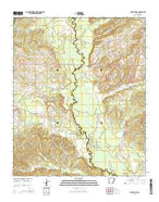 Silver Ridge Arkansas Current topographic map, 1:24000 scale, 7.5 X 7.5 Minute, Year 2014 from Arkansas Map Store