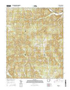 Sitka Arkansas Current topographic map, 1:24000 scale, 7.5 X 7.5 Minute, Year 2014 from Arkansas Map Store