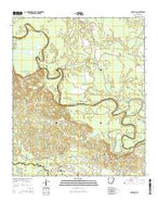 Snow Hill Arkansas Current topographic map, 1:24000 scale, 7.5 X 7.5 Minute, Year 2014 from Arkansas Map Store
